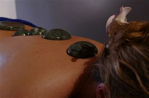 Jade hotstone massage.